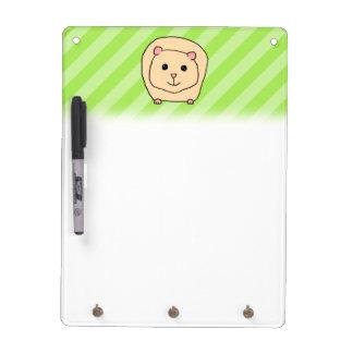 Guinea Pig Cartoon Animal Dry Erase Whiteboard
