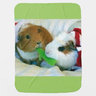 guinea pig Christmas blanket