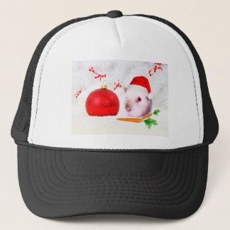 Guinea Pig Christmas Trucker Hat