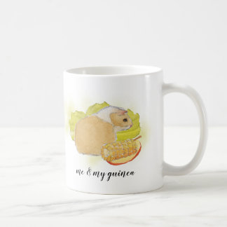 Guinea Pig Corn Watercolor Pet Mug