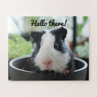 Guinea Pig Hello There Jigsaw Puzzle