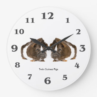 Guinea pig image for Round (Large) Wall Clock