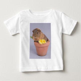 guinea pig in a flowerpot baby T-Shirt