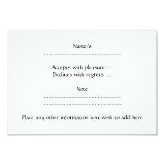 Guinea Pig. 3.5x5 Paper Invitation Card