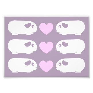Guinea Pig Love Photo Art