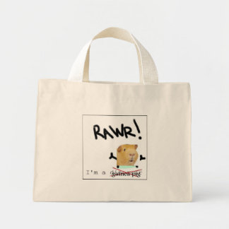 guinea pig mini tote bag