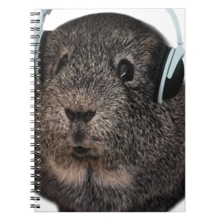 Guinea Pig Music Pet Spiral Note Books