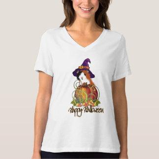Guinea Pig 'n Pumpkin Halloween T-Shirt