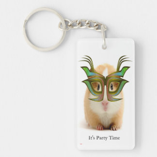 Guinea Pig, Party Time Key Ring