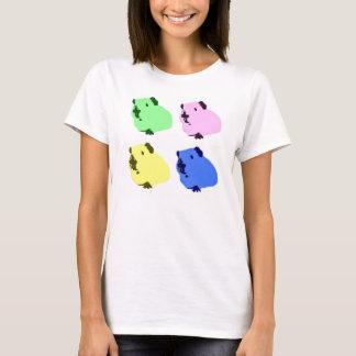 Guinea pig pop art effect t-shirt