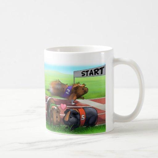 Guinea Pig Race Mugs