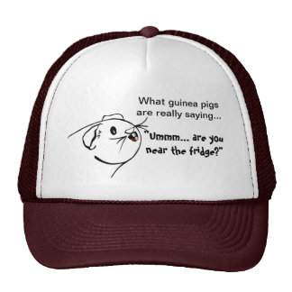 Guinea Pig Sayings Cap