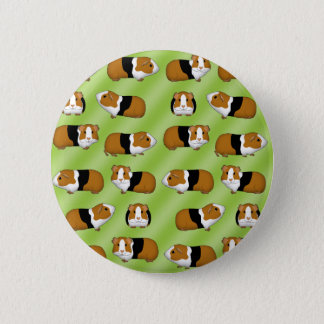 Guinea pig selection 6 cm round badge