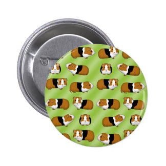 Guinea pig selection 6 cm round badge