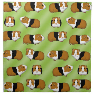 Guinea pig selection napkin