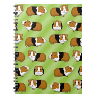 Guinea pig selection spiral notebook
