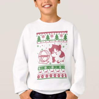 Guinea Pig Ugly Christmas Sweatshirt