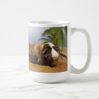 Guinea Pig Under the Palm Tree Coffee Mug