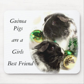 Guinea Pigs are a Girls Best Friend mouse mat
