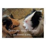 Guinea Pigs Birthday Greeting Card