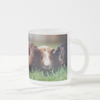 Guinea Pigs Frosted 296 ml  Frosted Glass Mug