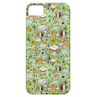 Guinea Pigs in Green Barely There iPhone 5 Case