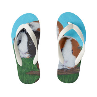 Guinea Pigs Kid's Thongs