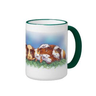 Guinea Pigs Coffee Mugs