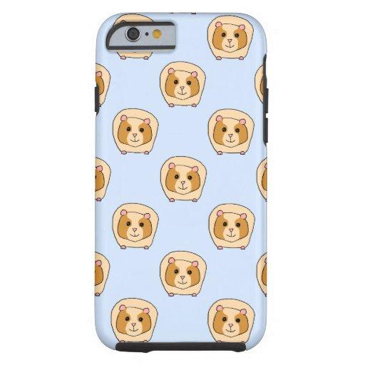 Guinea Pigs on Blue. iPhone 6 Case