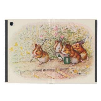 Guinea Pigs Planting in the Garden iPad Mini Cover