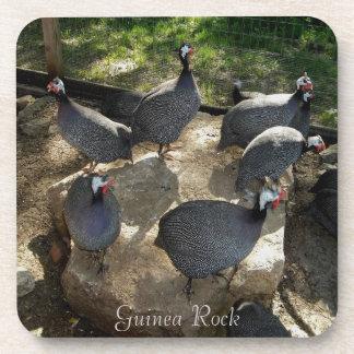 Guinea Rock Coaster Set