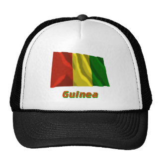 Guinea Waving Flag with Name Hats