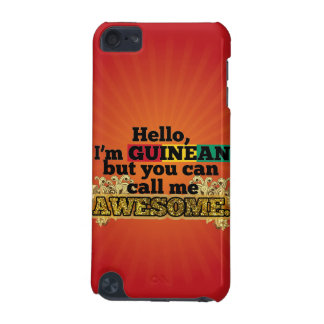 Guinean, but call me Awesome iPod Touch (5th Generation) Case