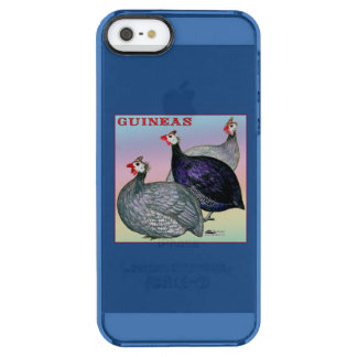 Guineas Three Fowl Clear iPhone SE/5/5s Case