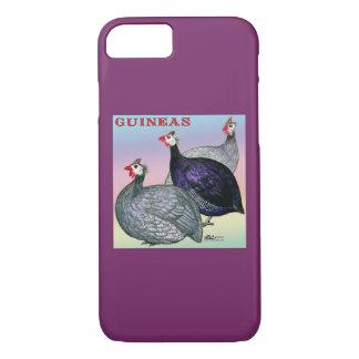 Guineas Three Fowl iPhone 7 Case