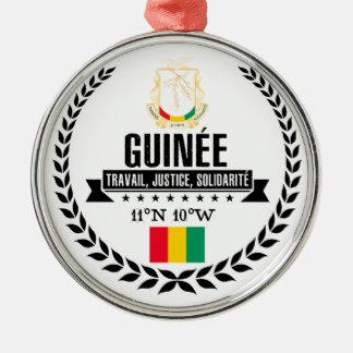 Guinée Metal Ornament