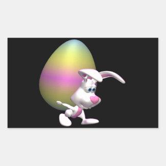 Guiness Easter Egg Rectangular Sticker