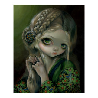 Guinevere Had Green Eyes ART PRINT Jasmine Becket-