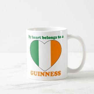 Guinness Basic White Mug