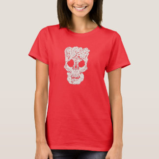 Guipure Lace Skull T-Shirt