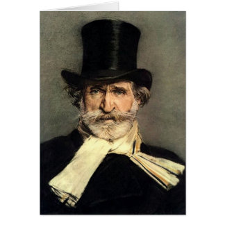 Guiseppe Verdi - Maestro of Italian Opera Card
