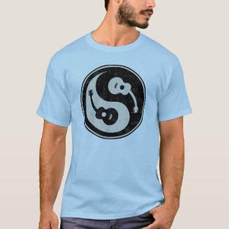 guit-yang1-blk-tan-T T-Shirt