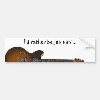 guitar02 bumper sticker