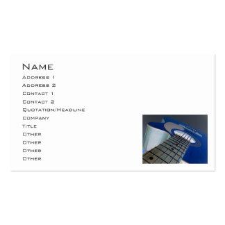 Guitar3 Business Card