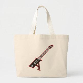 Guitar A Jumbo Tote Bag