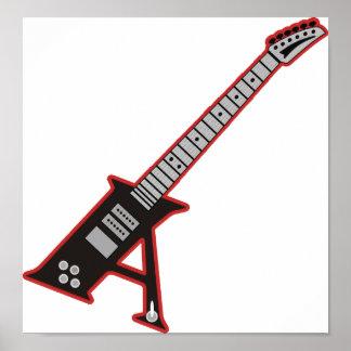 Guitar A Print