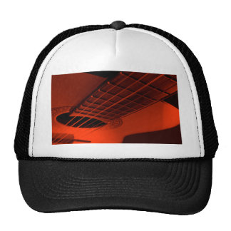 Guitar abstract. cap