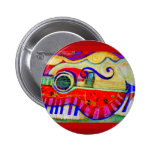 Guitar Abstracted Art by Sharles Button
