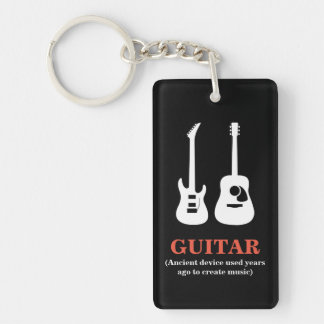 GUITAR (Ancient device used............. Key Ring