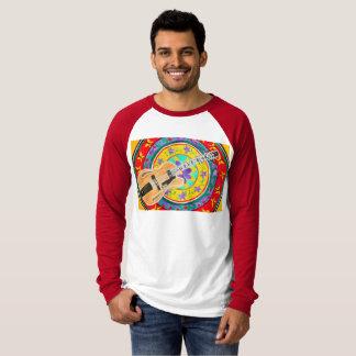 Guitar and Mandala Watercolor T-Shirt